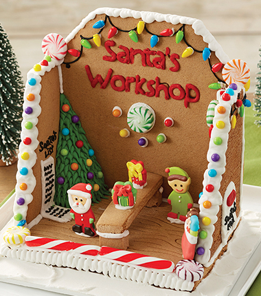 Whimsical Gingerbread Houses