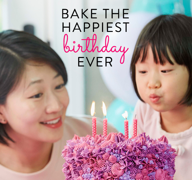 Bake the Happiest Birthday Ever