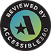 Website Reviewed by Accessible 360 for Accessibility