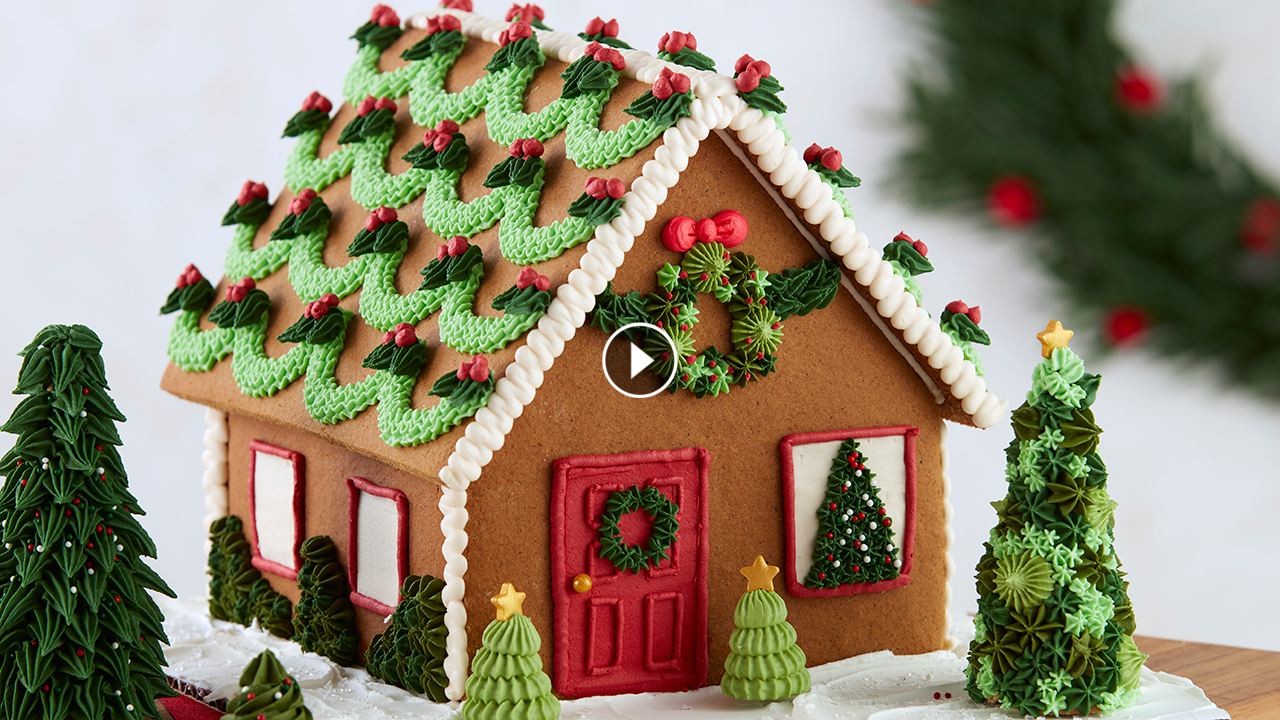 Gingerbread House Decorating Techniques