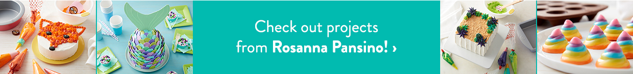 Rosanna Pansino Decorating Projects and Recipes