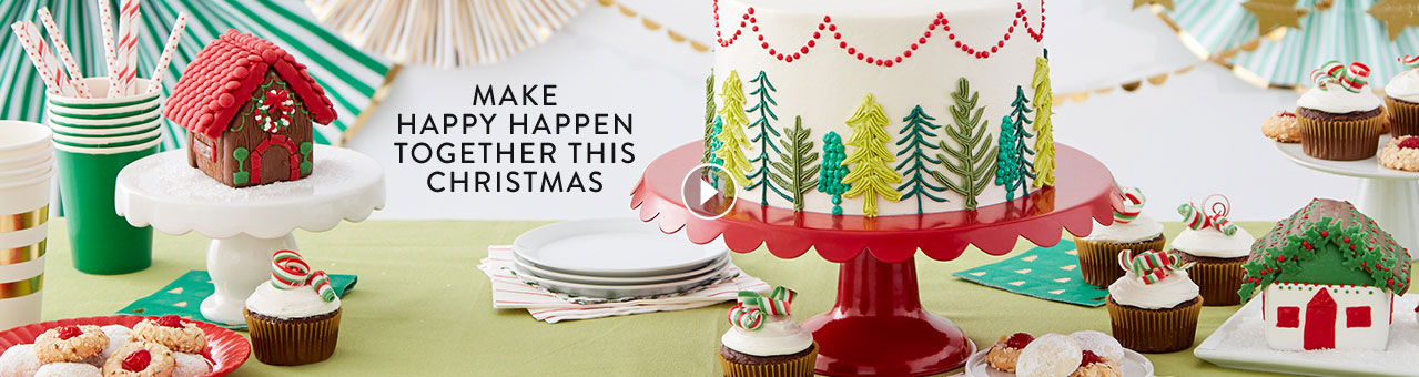 Wilton Christmas and Gingerbread Products and Projects