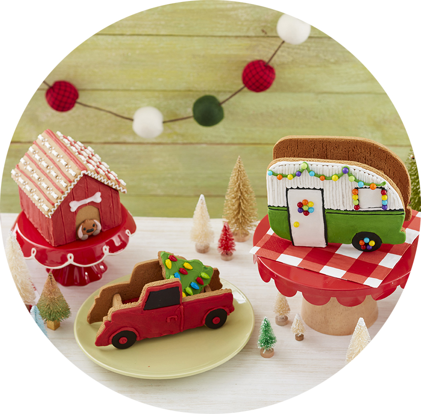 Christmas Gingerbread House Kits