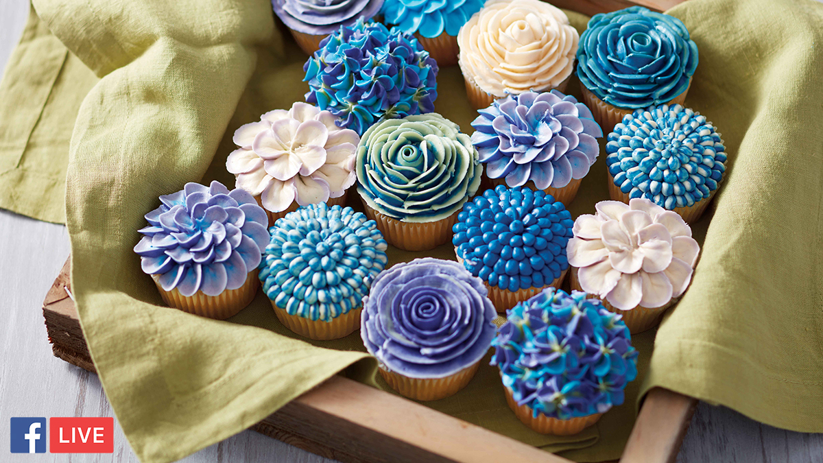 How To Make Beautiful Floral Buttercream Cupcakes