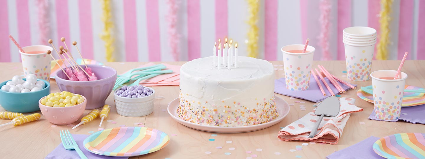 Wilton Birthday shop and decorating ideas