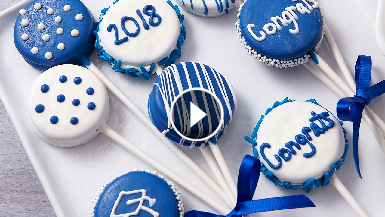 How to Make Graduation Cookie Pops