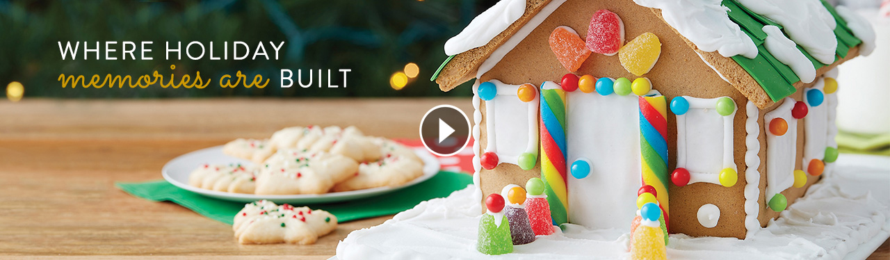 Wilton 2019 Gingerbread Decorating Products and Ideas