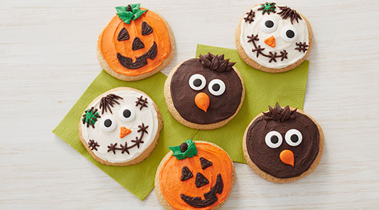 Scarecrow Cookies Course