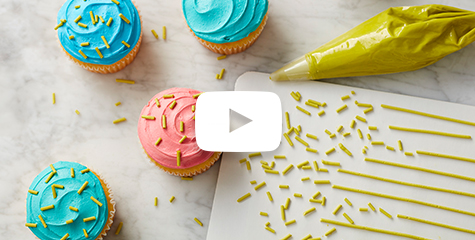 how to make Royal Icing sprinkles