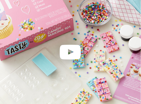 Tasty by Wilton Candy Making 101 Kit