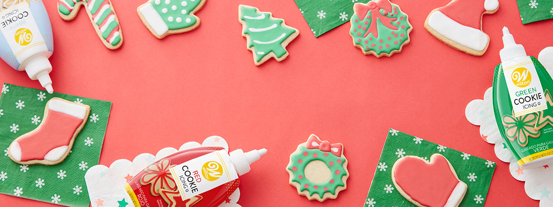 Christmas Cookies and Wilton Cookie Icing