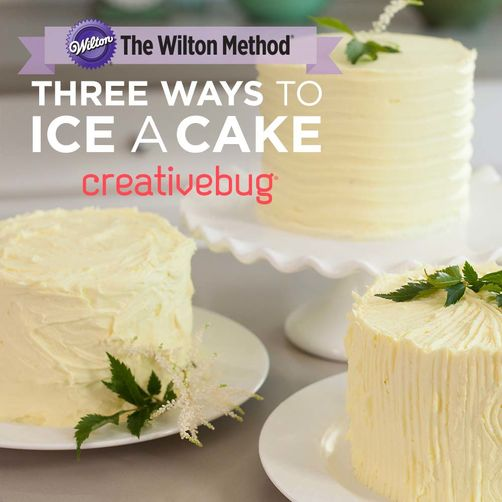 CreativeBug Three Ways to Ice a Cake Online Class