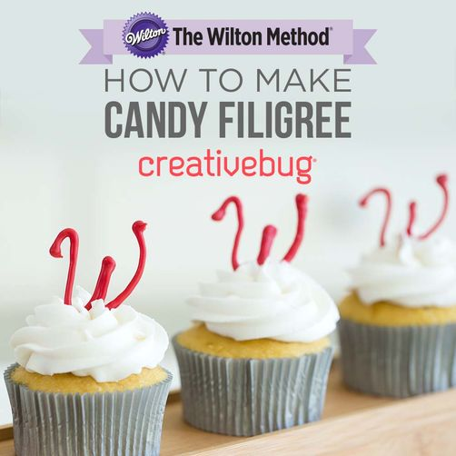 CreativeBug How to Make Candy Filigree Online Class