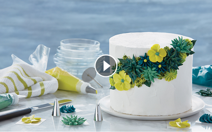 How to Decorate Cakes and Desserts Kit
