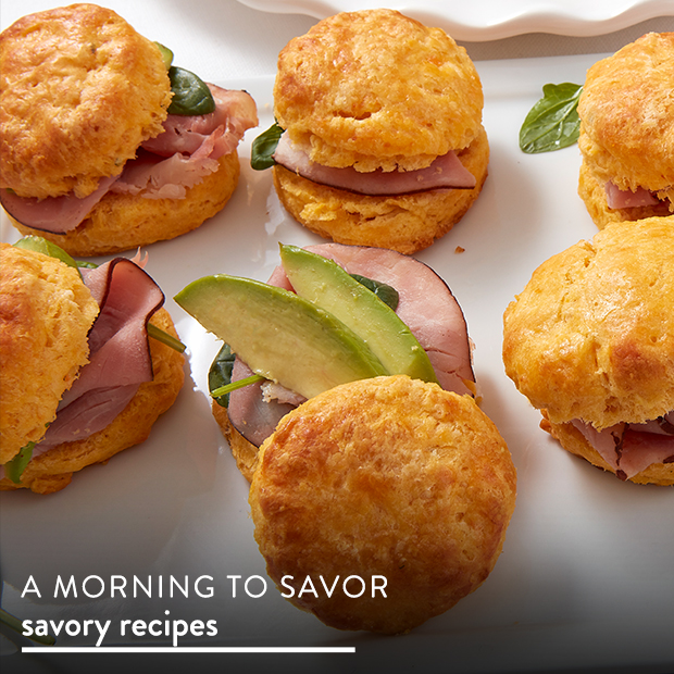 A Morning to Savor. Find Savory Recipes.