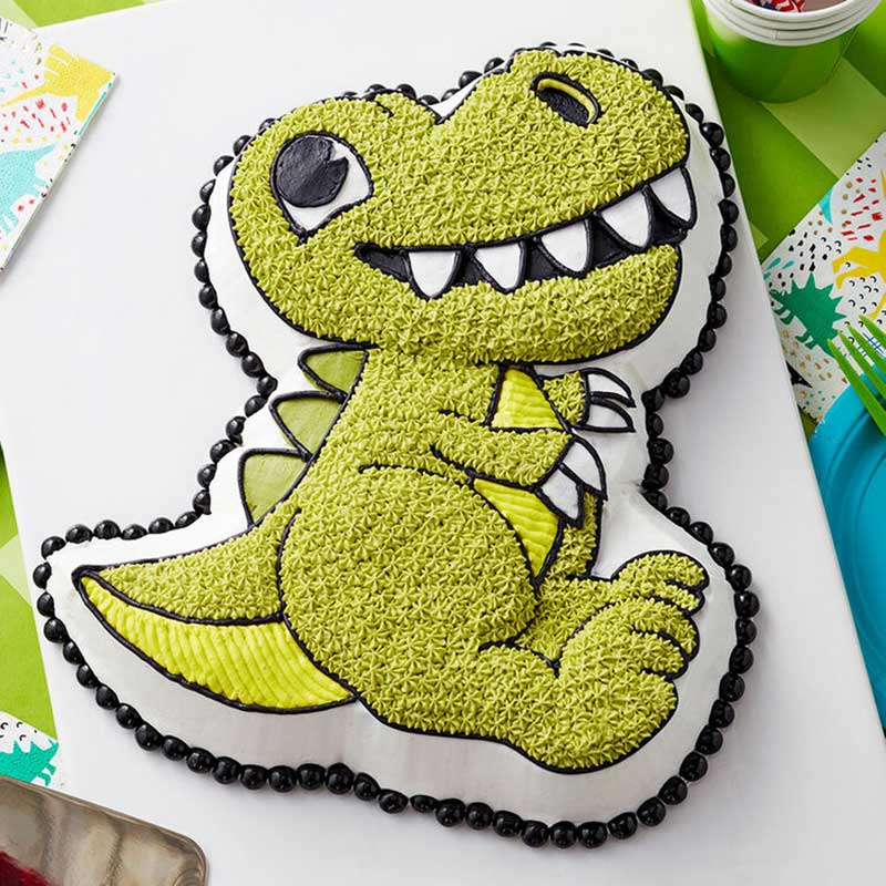 Dino-Mite Birthday Dinosaur Cake Ideas!