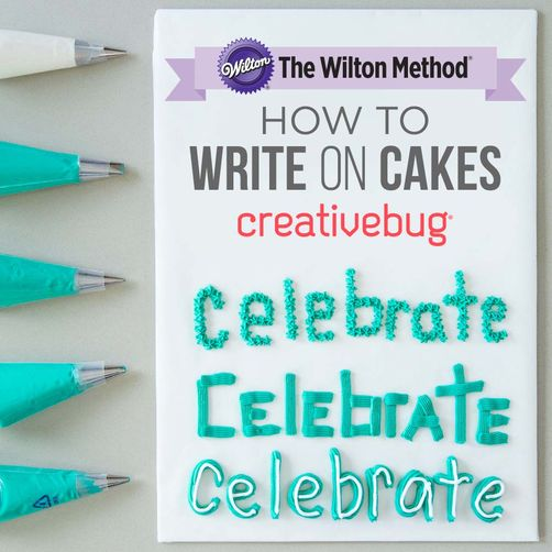 CreativeBug How to Write on Cakes Online Class