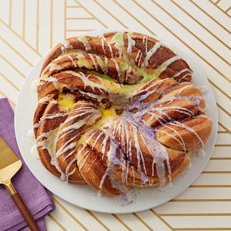 Mardi Gras King Cake: Let the Good Times Roll
