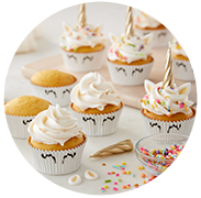 Cupcake Liners & Toppers