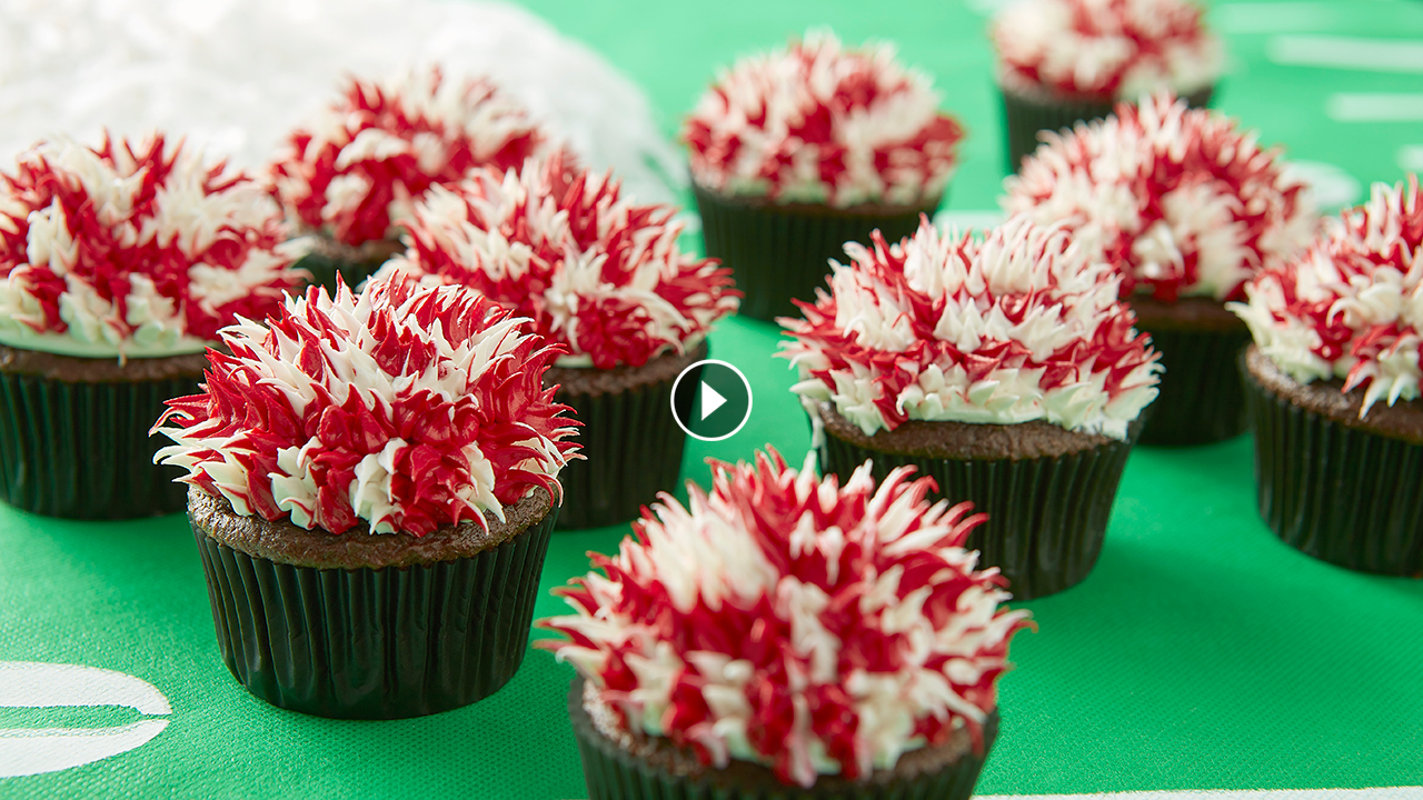 How to Make Pom Pom Cupcakes