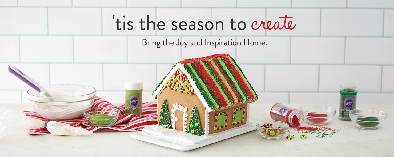Tis the Season to Create. Bring the joy and inspiration home.