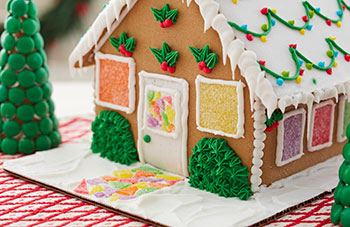 Learn How to Deck Out Your Gingerbread House