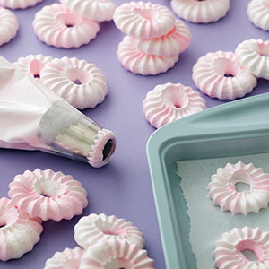 Colorful Piping Bags and Tips