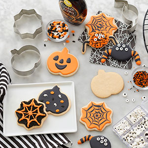 Halloween Cookie Cutters and kits